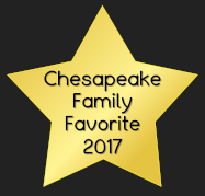 Chesapeake Family Favorite 2017 award image