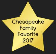 Chesapeake Family Favorite 2017 award image